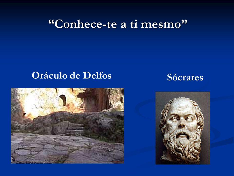 Conhece-te a ti mesmo Sócrates Oráculo de Delfos