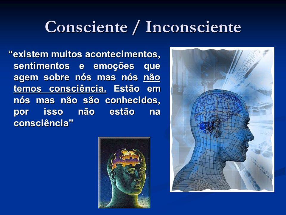 existem muitos acontecimentos, sentimentos e emoções que agem sobre nós mas nós não temos consciência. Estão em nós mas não são conhecidos, por isso n