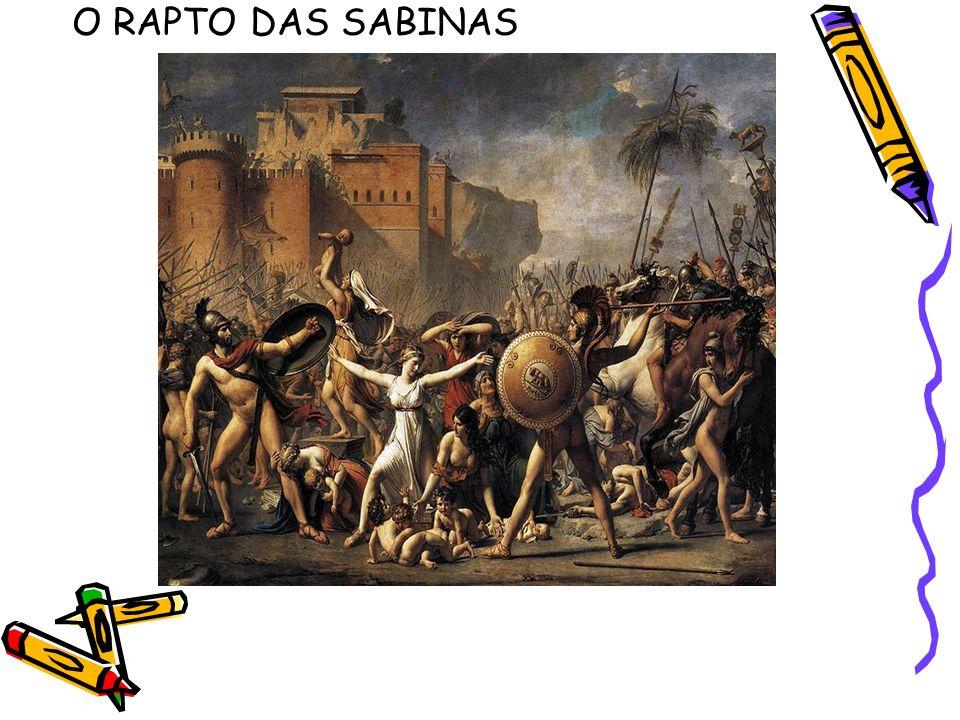 O RAPTO DAS SABINAS