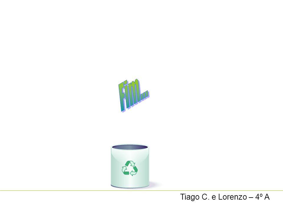 Tiago C. e Lorenzo – 4º A