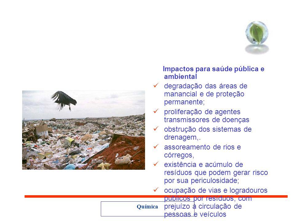 Química Criança, catador, cidadão (UNICEF,1999) ´´ Muitas das crianças nascidas no lixão, são filhas de pais que também nasceram ali. São meninos e me