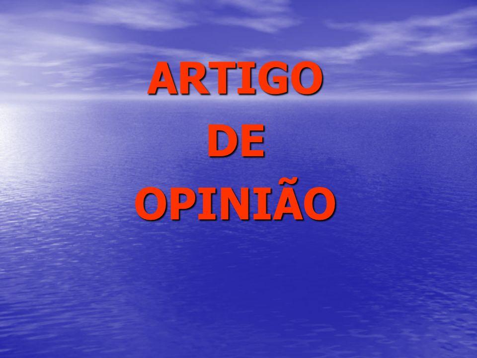 ARTIGODEOPINIÃO