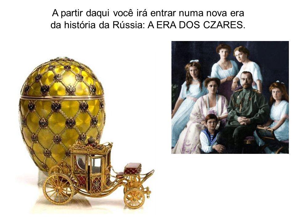 Em 1547 Ivan (o terrível) é oficialmente coroado o primeiro Czar russo.