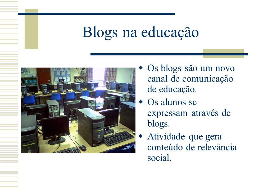 Blogs no portal