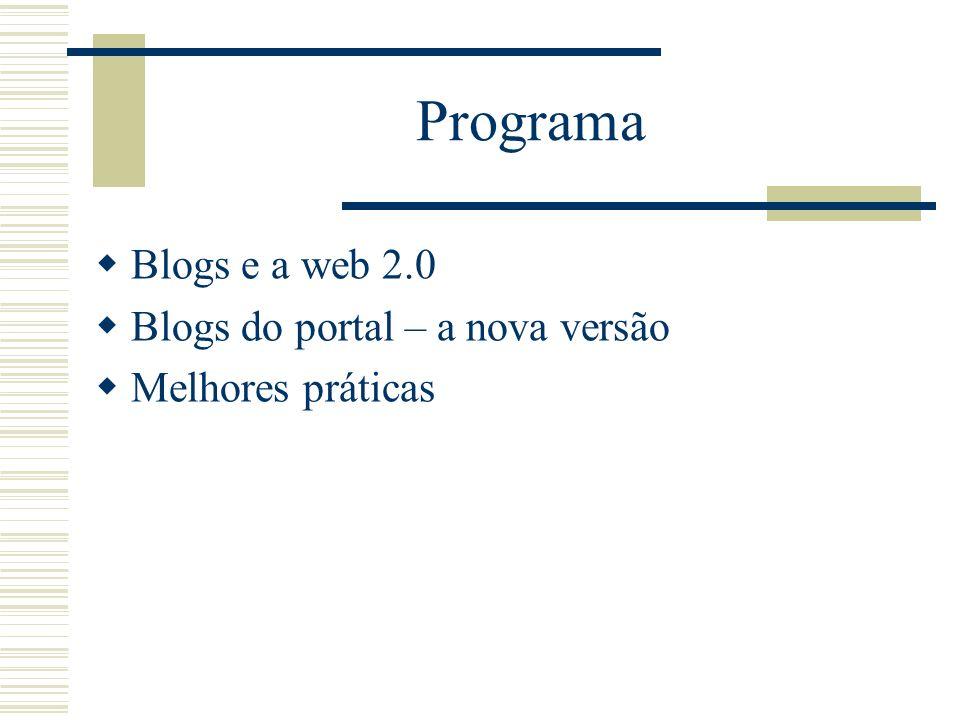 No princípio era a web 1.0 Sites pessoais. Sites de mídia. Enciclopédia Britânica.