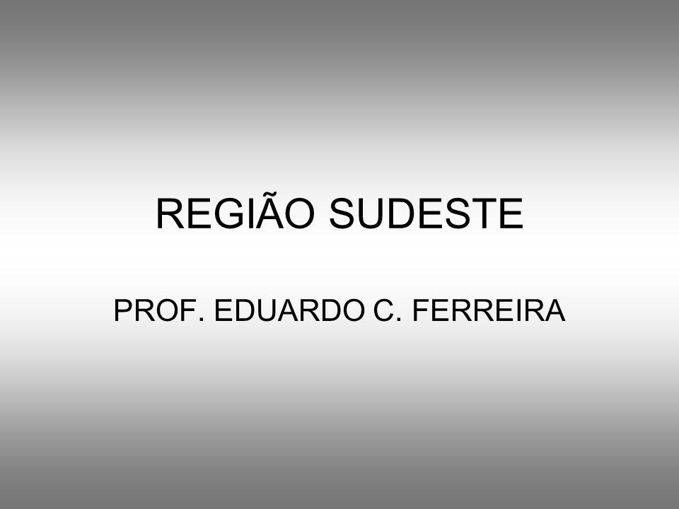 REGIÃO SUDESTE PROF. EDUARDO C. FERREIRA