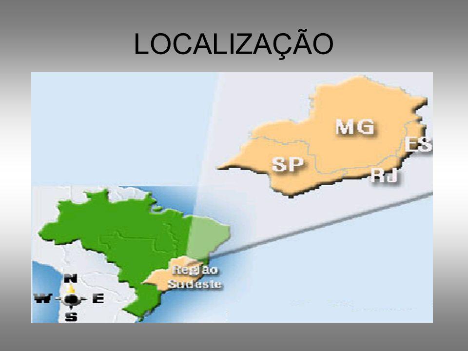 REGIÃO SUDESTE Nela estão duas metrópoles globais e uma nacional.