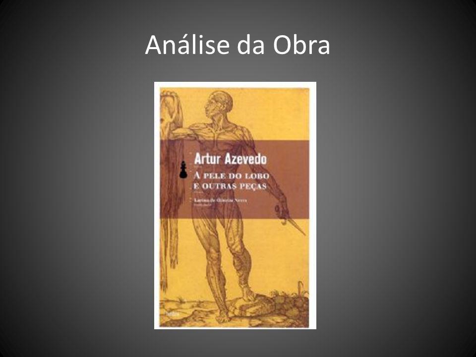 O Autor Em suas obras, Artur Azevedo abordou assuntos do cotidiano da vida carioca e dos hábitos da capital.