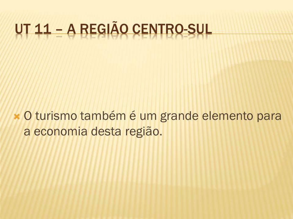 O turismo também é um grande elemento para a economia desta região.