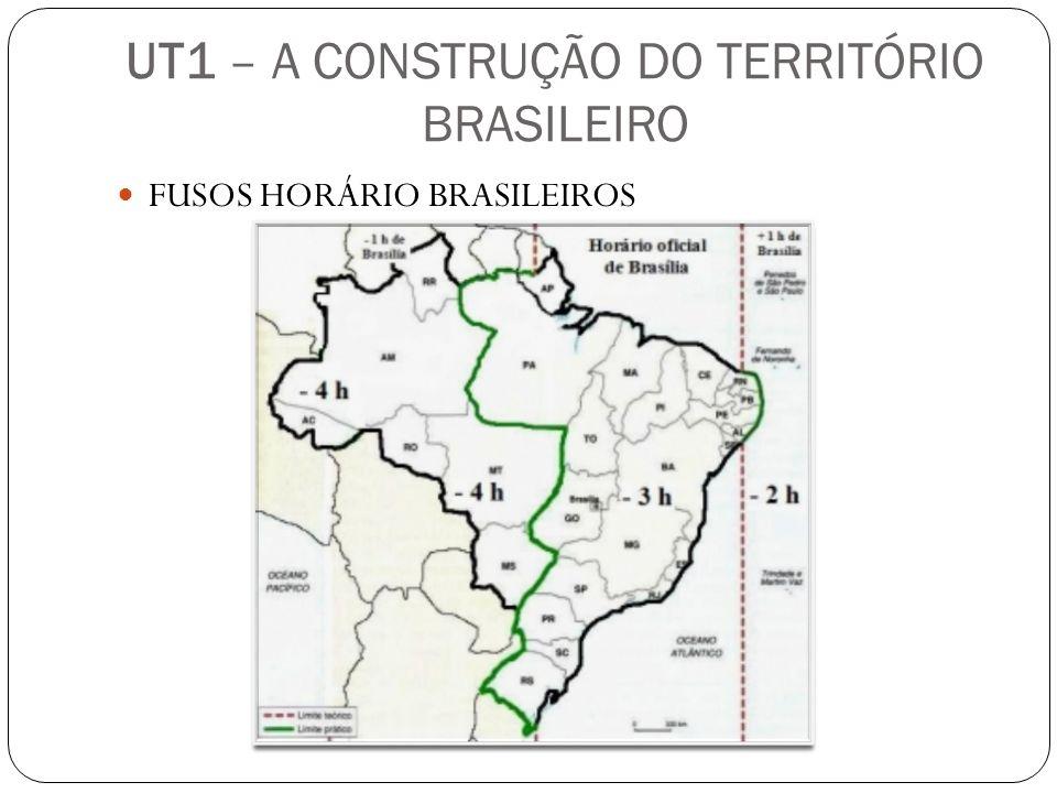 FUSOS HORÁRIO BRASILEIROS
