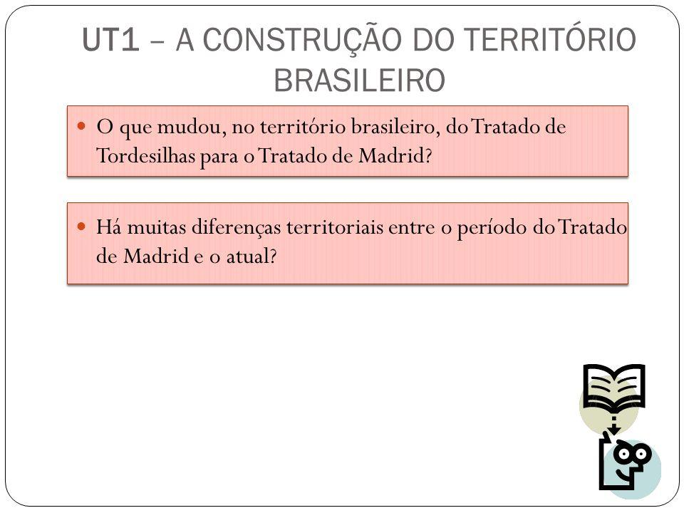 O que mudou, no território brasileiro, do Tratado de Tordesilhas para o Tratado de Madrid? Há muitas diferenças territoriais entre o período do Tratad