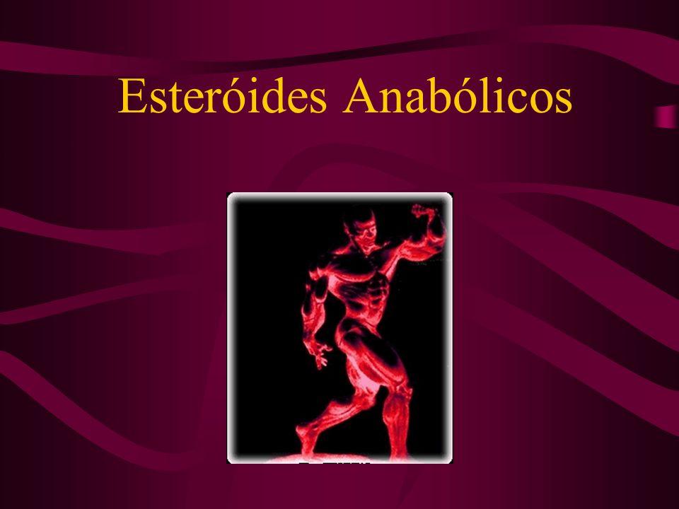 Histórico Conceito Esteróides anabólicos são substâncias derivadas do colesteról (esteróides), sintéticos, que imitam a testosterona procurando maximizar seu efeito anabólico.