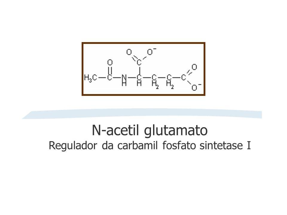 N-acetil glutamato Regulador da carbamil fosfato sintetase I