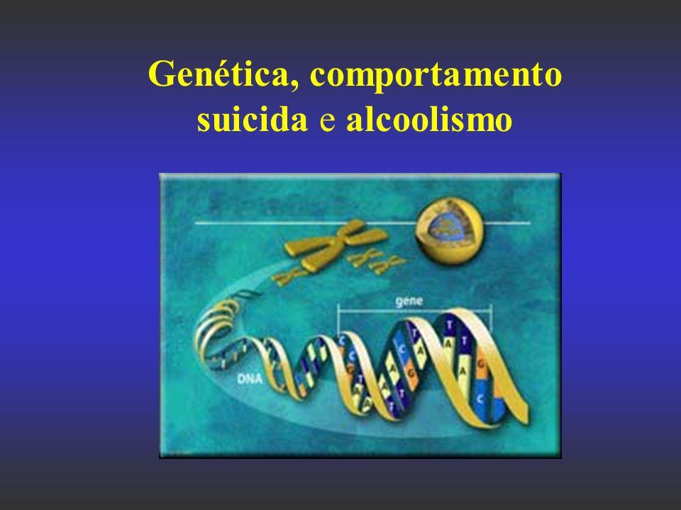 Genética, comportamento suicida e alcoolismo