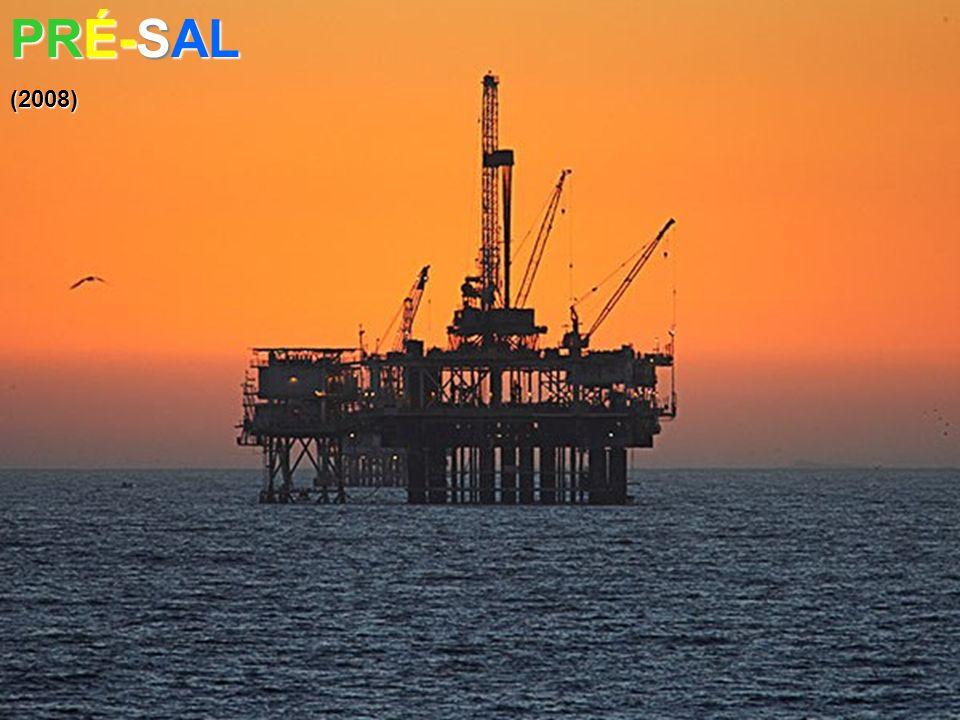 Com o Pré-Sal, o Brasil pode passar a ser 12° maior reserva de petróleo do mundo (antes em 17° ) PETRÓLEO PESADO PETRÓLEO LEVE