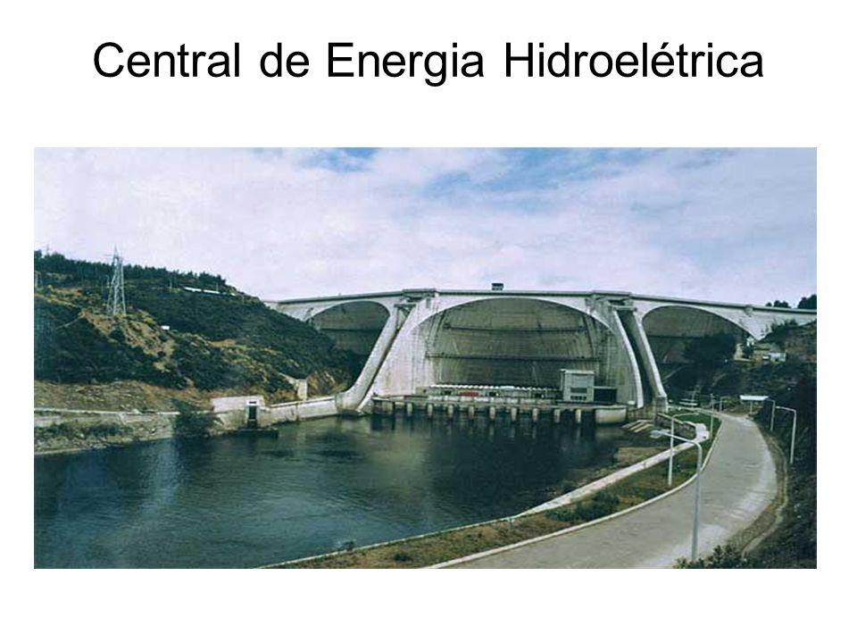 Desvantagens da Energia Hidroelétrica É muito dispendiosa em termos de construção; São necessárias grandes quantidades de água para poder funcionar; D