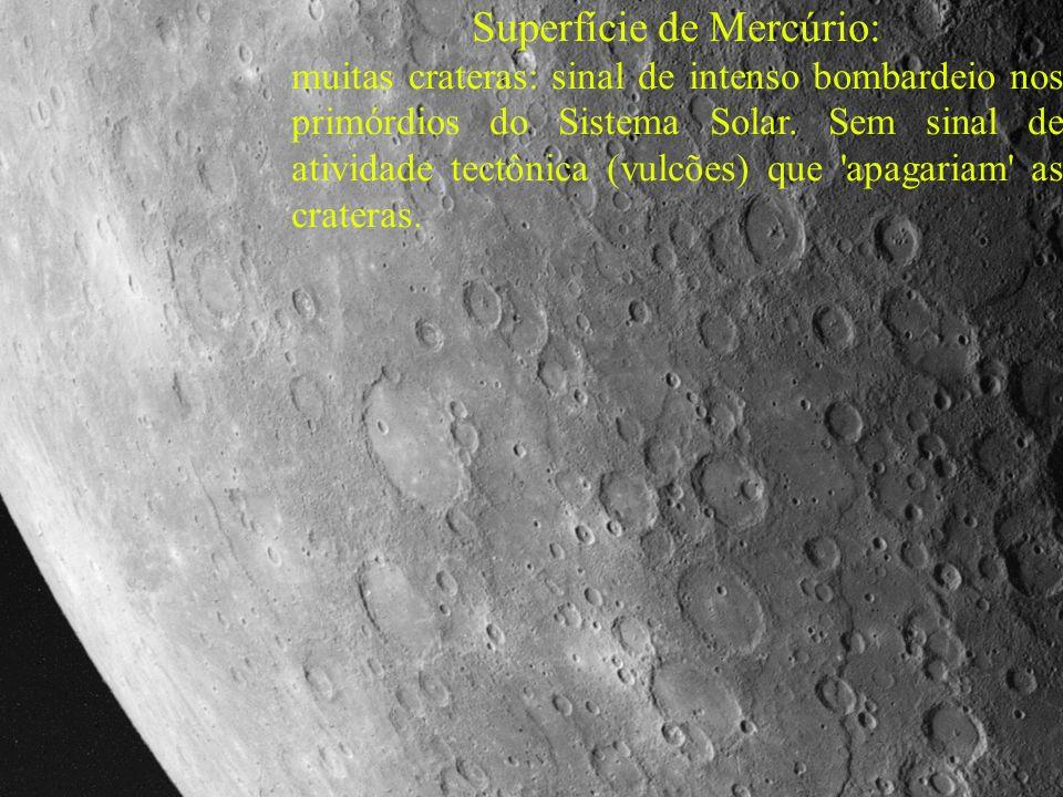 - Maior asteróide (Ceres): 940 km diâmetro.