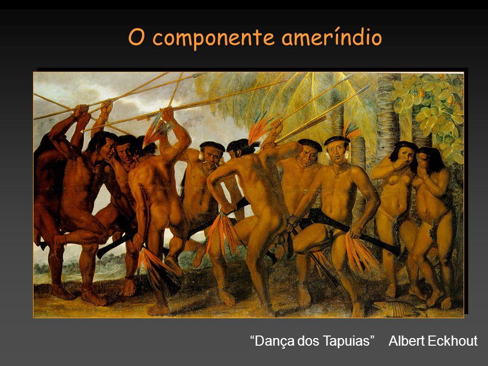 O componente ameríndio Dança dos Tapuias Albert Eckhout