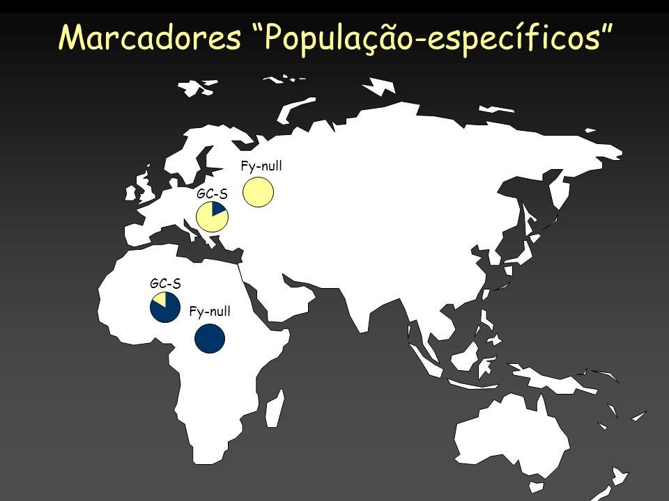 Marcadores População-específicos Fy-null GC-S