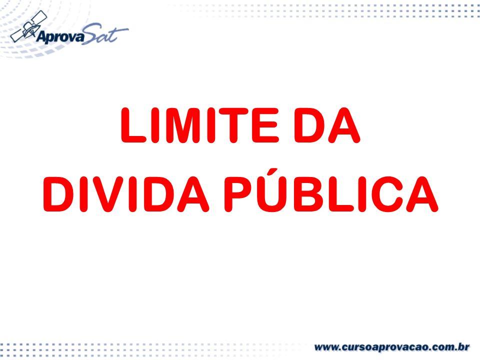 LIMITE DA DIVIDA PÚBLICA