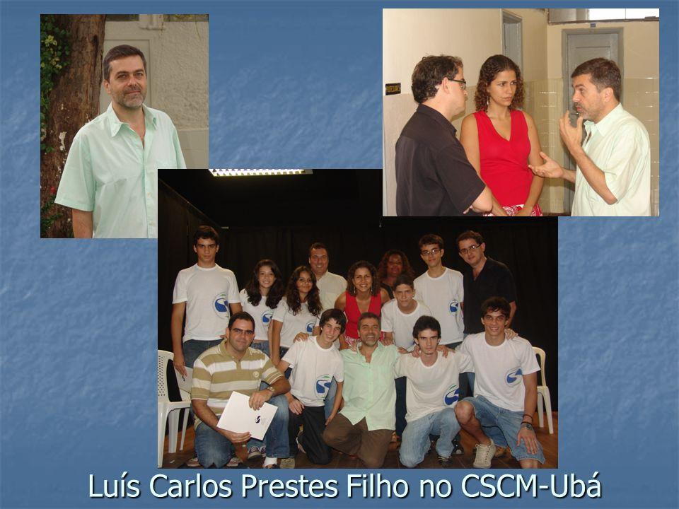 Luís Carlos Prestes Filho no CSCM-Ubá