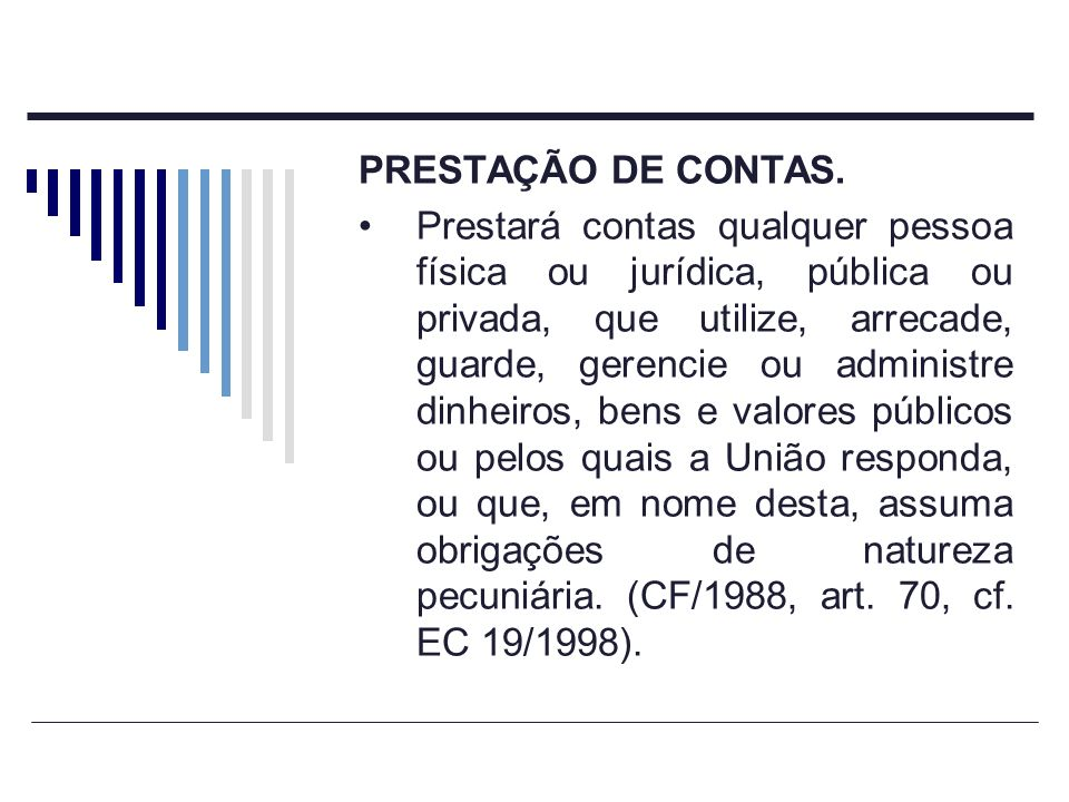 CONTROLE EXTERNO Art.71.