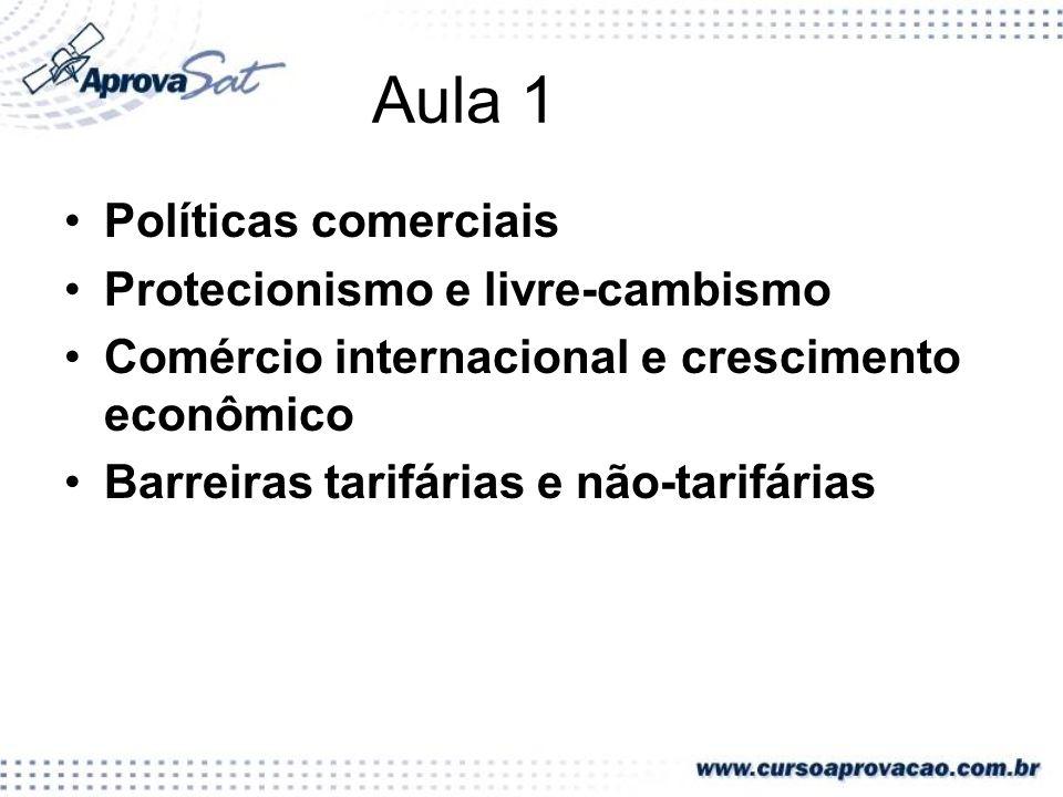 No que se refere ao comércio internacional, a década de noventa foi caracterizada pelo(a) a)recrudescimento do protecionismo em virtude do contexto recessivo herdado da década anterior.