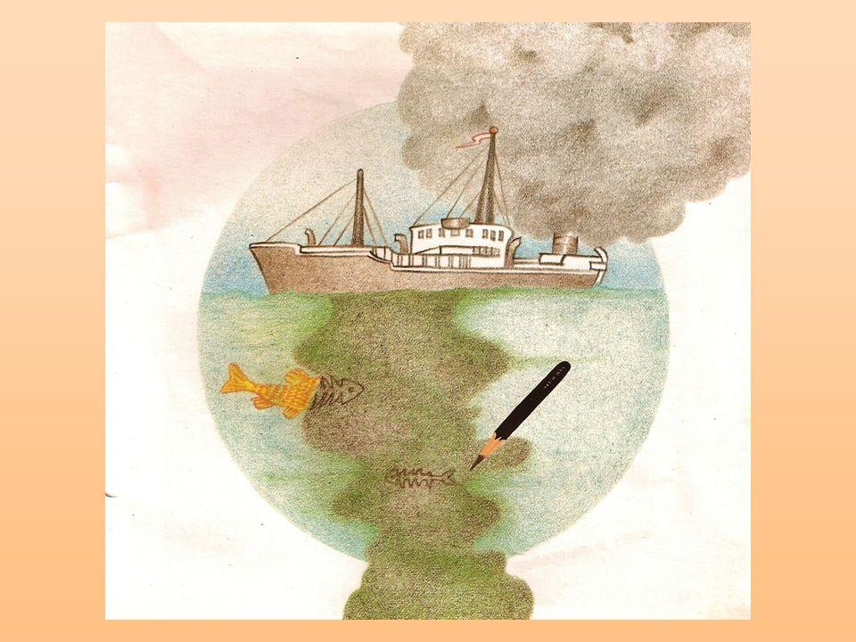 4º B – MARIA BEATRIZ Essa figura que eu escolhi mostra que o homem estava sem controle e estava prejudicando os seres vivos, as águas, deixando a natureza muito feia.