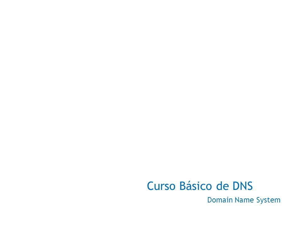 Índice DNS – Domain Name System Histórico O que é DNS Como Funciona Delegação Tipos de Servidores Resource Records – Tipos de Registros Resolução de Nomes Resolução Reversa Recursividade