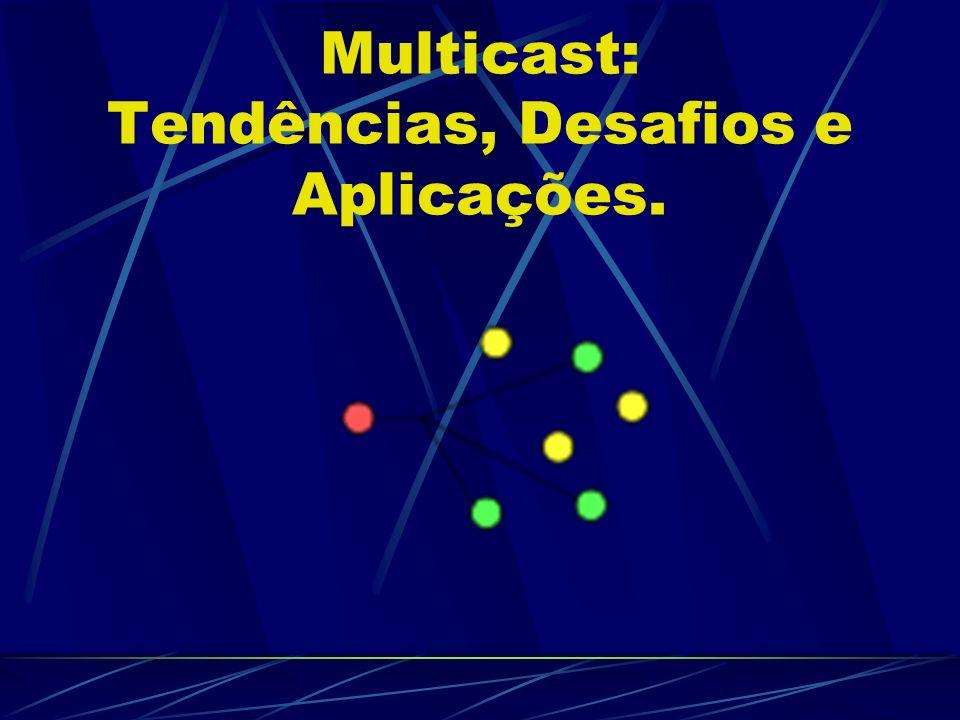 Multicast: Tendências, Desafios e Aplicações.