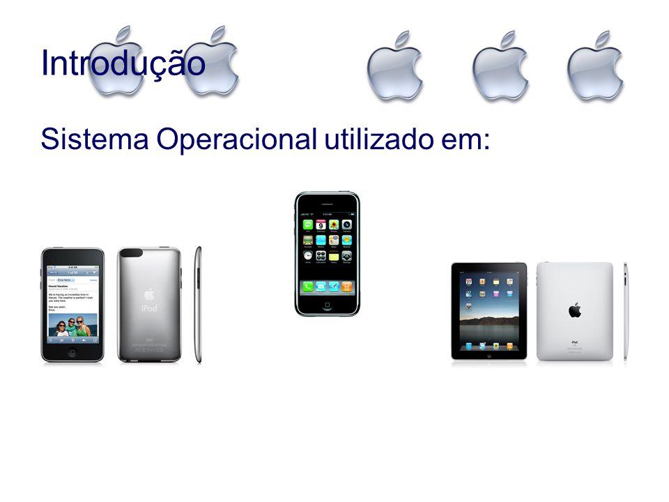 Introdução Versões: oiOS 1.0 (Junho de 2007) – Lançamento do Iphone.