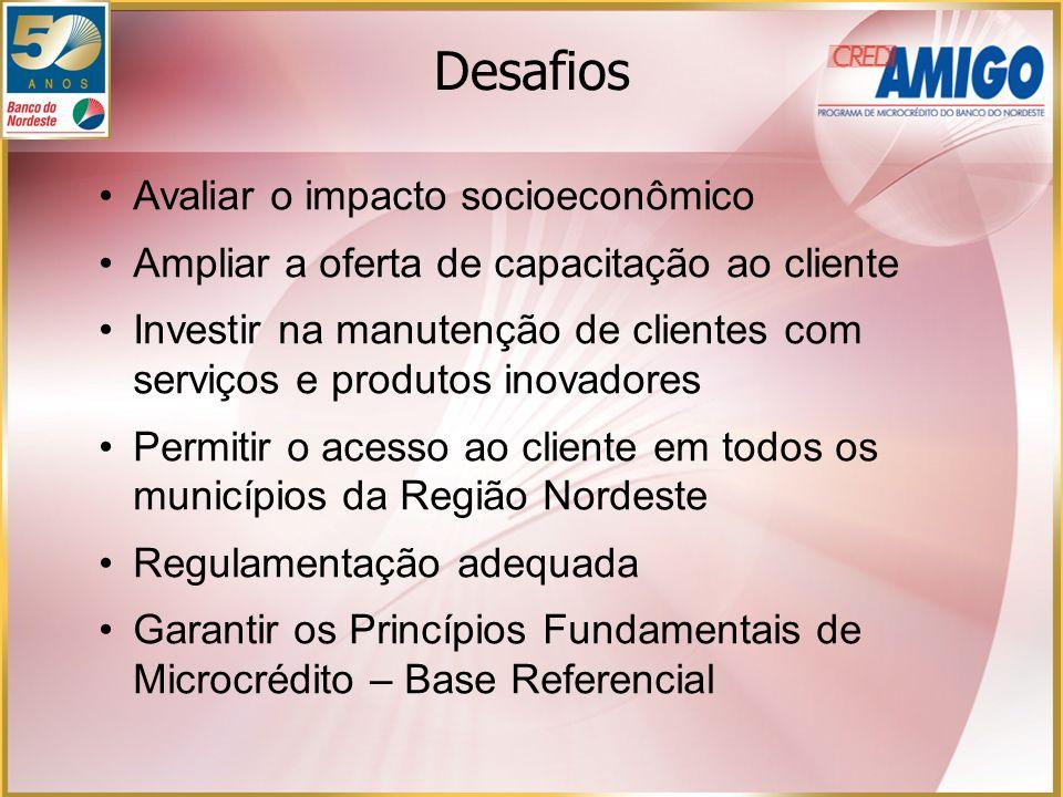 Avaliar o impacto socioeconômico Ampliar a oferta de capacitação ao cliente Investir na manutenção de clientes com serviços e produtos inovadores Perm