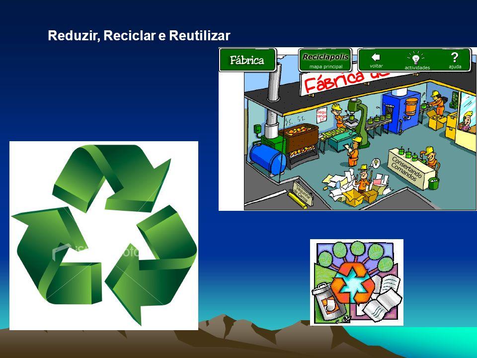 Reduzir, Reciclar e Reutilizar