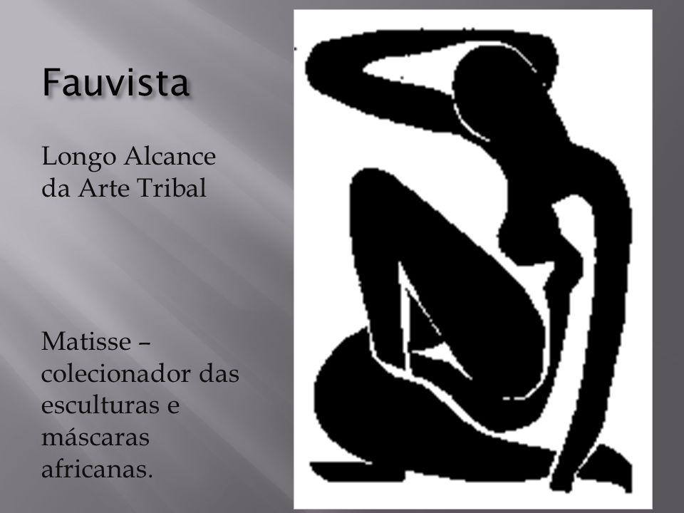 Fauvista Longo Alcance da Arte Tribal Matisse – colecionador das esculturas e máscaras africanas.