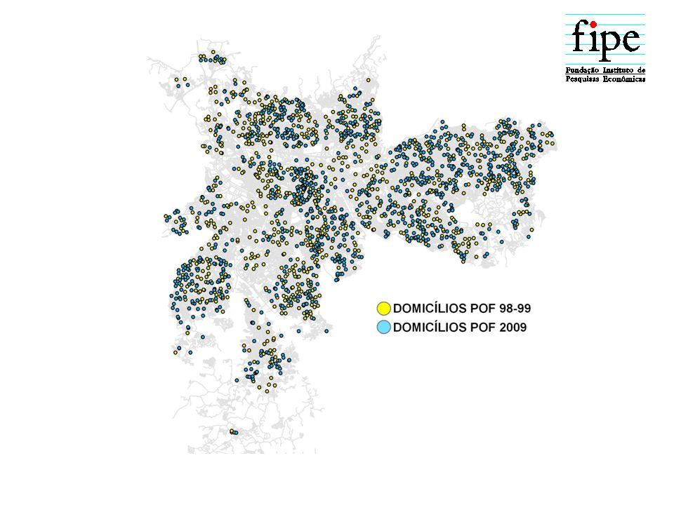 ESTRUTURAS DE PONDERAÇÕES POF 9899POF 2009 1-20sm1-10sm1-50sm 0.
