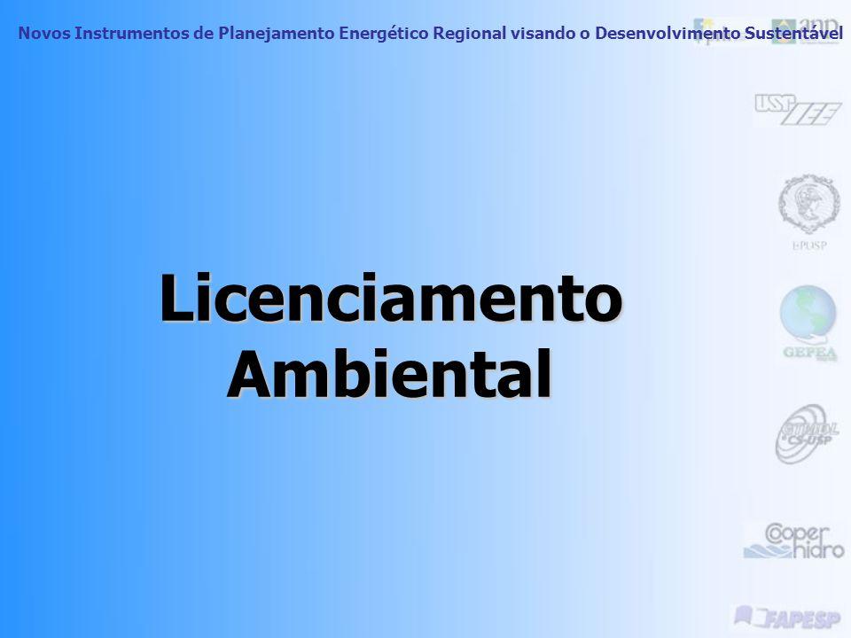 Novos Instrumentos de Planejamento Energético Regional visando o Desenvolvimento Sustentável Lei Federal 9.605 de 12/02/1998 (Lei de Crimes Ambientais