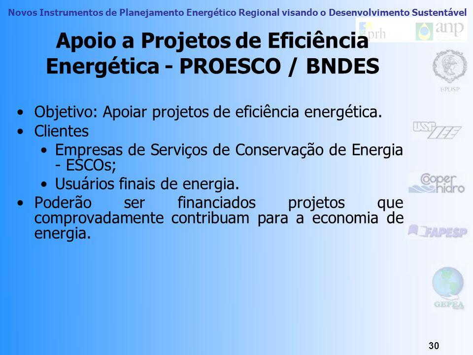 Novos Instrumentos de Planejamento Energético Regional visando o Desenvolvimento Sustentável 29 Módulo 10 1.Distinção entre fontes primárias e secundá