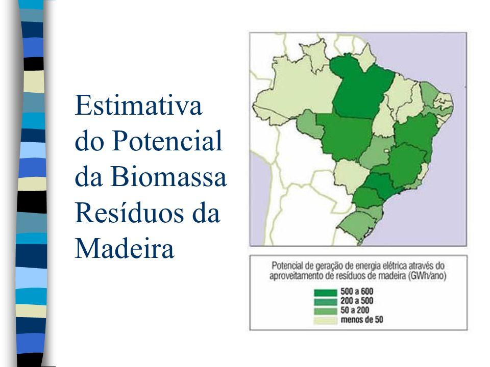 Estimativa do Potencial da Biomassa Óleos Vegetais