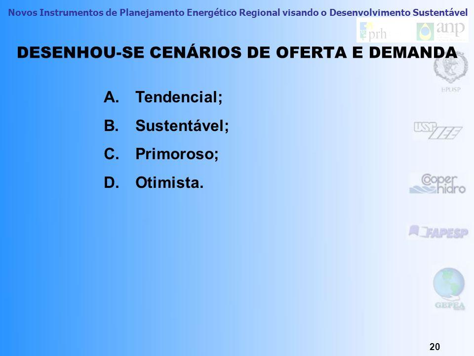 Novos Instrumentos de Planejamento Energético Regional visando o Desenvolvimento Sustentável 19 ACC Holística ACC Determinística RANQUEAMENTO DOS RECU