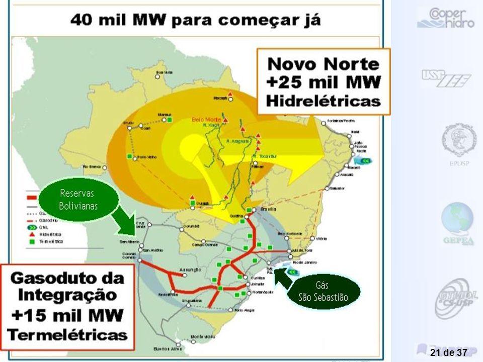 Novos Instrumentos de Planejamento Energético Regional visando o Desenvolvimento Sustentável Introdução Geral Miguel Edgar Morales Udaeta 20 de 37