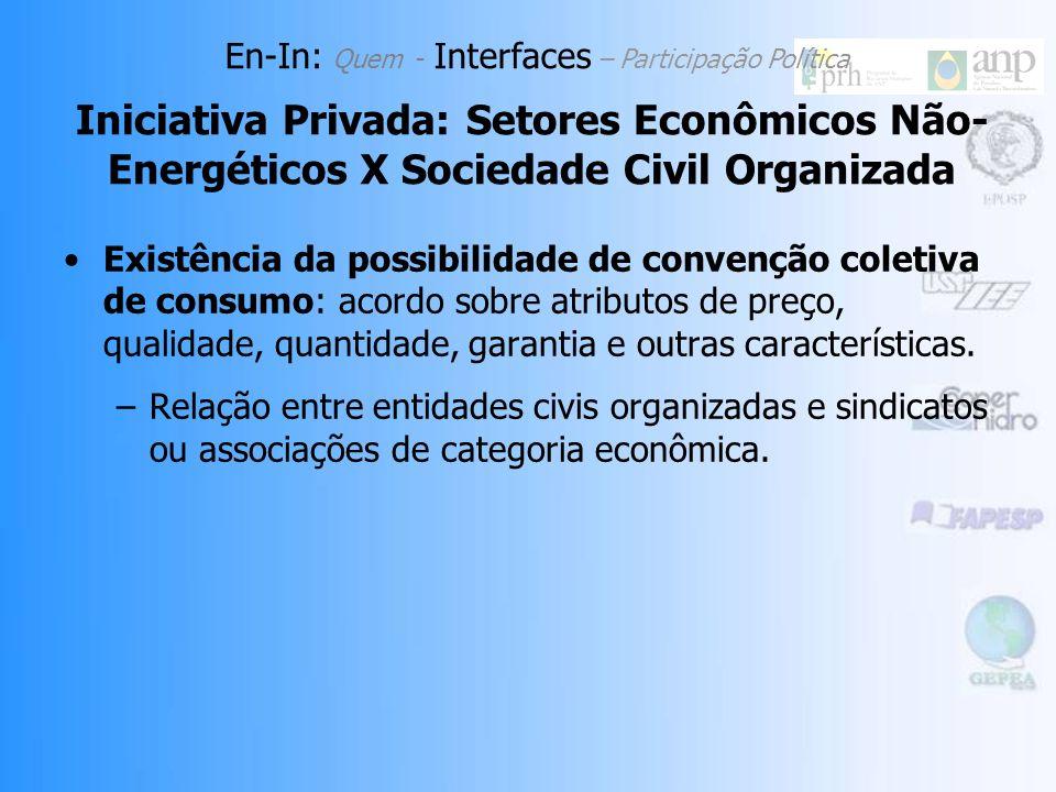 Existência da possibilidade de convenção coletiva de consumo: acordo sobre atributos de preço, qualidade, quantidade, garantia e outras características.