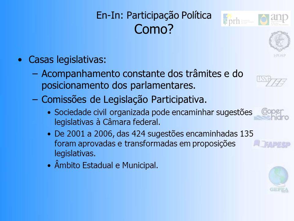 EIA/RIMA: –Obrigatória a realização de Audiências Públicas. –Visam informar a sociedade e conhecer a opinião pública sobre a implantação de determinad