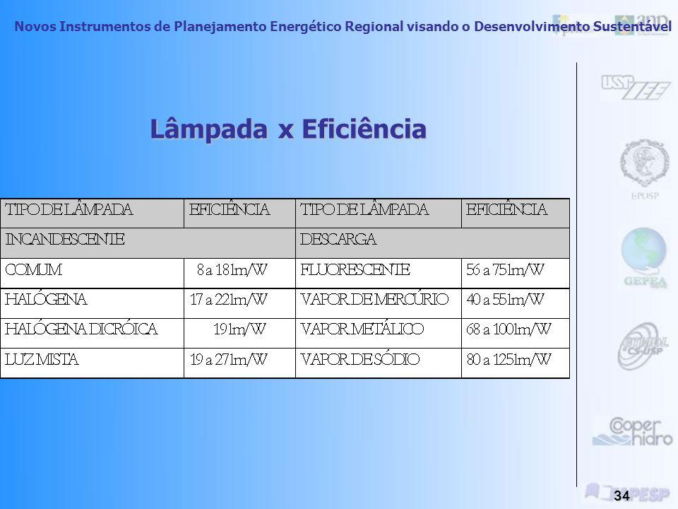 Novos Instrumentos de Planejamento Energético Regional visando o Desenvolvimento Sustentável 33