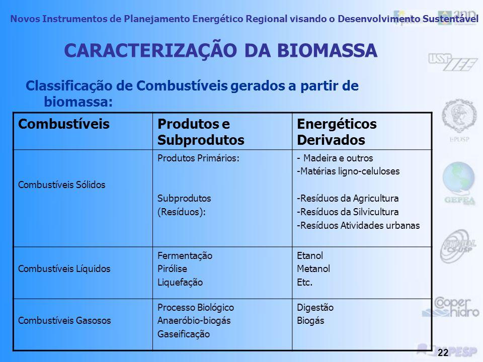 Novos Instrumentos de Planejamento Energético Regional visando o Desenvolvimento Sustentável 21 Além disso se dividem em três grupos: as Grandes Centr