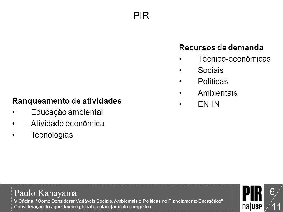 Paulo Kanayama V Oficina: Como Considerar Variáveis Sociais, Ambientais e Políticas no Planejamento Energético Consideração do aquecimento global no planejamento energético 11 7 Contexto Aquecimento Global Protocolo de Kyoto Solução técnico-econômica pode ser planejada mas pode ser atingida.