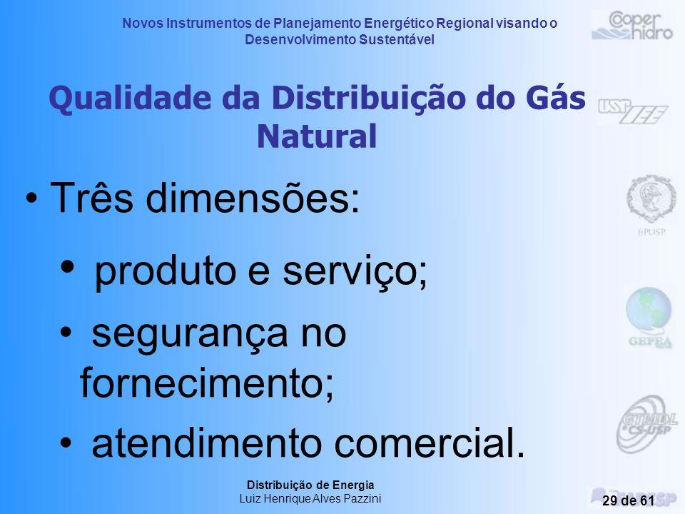 Novos Instrumentos de Planejamento Energético Regional visando o Desenvolvimento Sustentável Distribuição de Energia Luiz Henrique Alves Pazzini 28 de