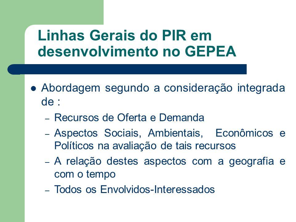 Pergunta: Considerando a abrangência do processo de integração proposto para o PIR, quais as vantagens e barreiras que você identifica para sua aplicação ao setor elétrico brasileiro atual?