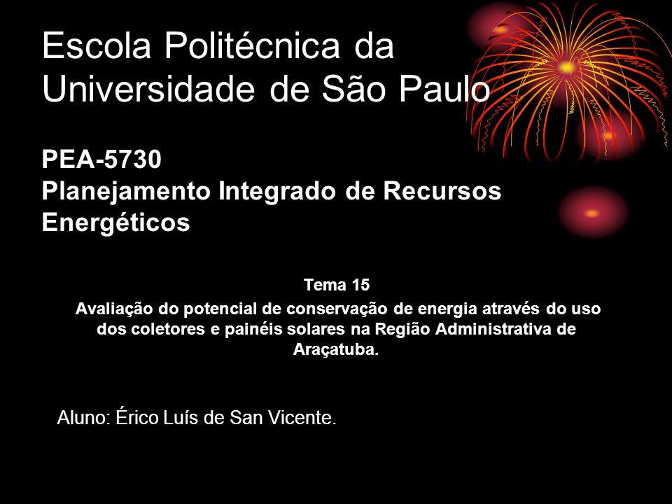 Escola Politécnica da Universidade de São Paulo PEA-5730 Planejamento Integrado de Recursos Energéticos Tema 15 Avaliação do potencial de conservação