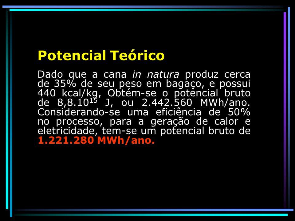 Total de cana moída (safra de dois anos) das 29 Usinas analisadas 32,507 milhões de toneladas (2005/2006)