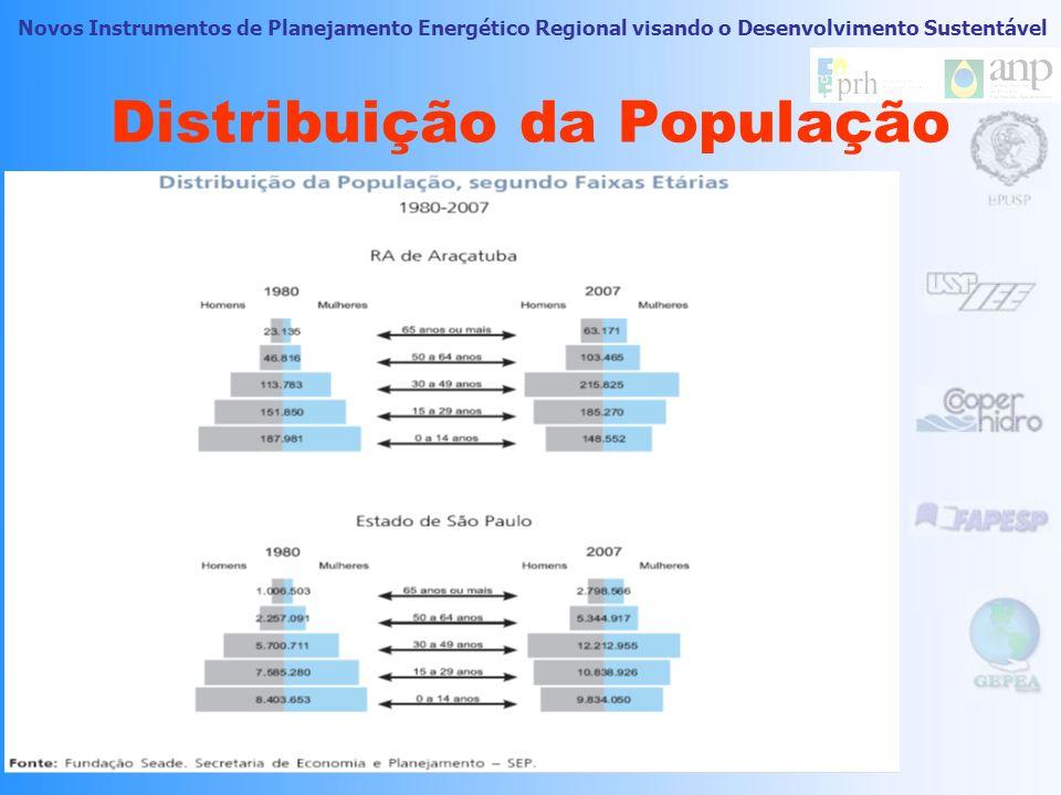 Novos Instrumentos de Planejamento Energético Regional visando o Desenvolvimento Sustentável Aspectos demográficos
